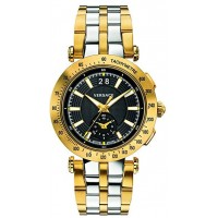 Versace Dress Watch For Men Analog Stainless Steel