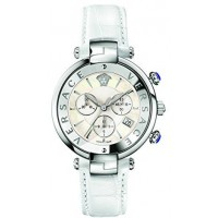 Versace Dress Watch For Women Analog Leather