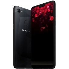 OPPO F7 Dual SIM - 128GB, 6GB RAM, 4G LTE, Diamond Black