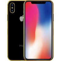 Apple iPhone X Gold Plated 24K - 256GB, 4G LTE, Space Grey