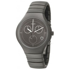 Rado Men's Black Dial Ceramic Band Watch - R27897102