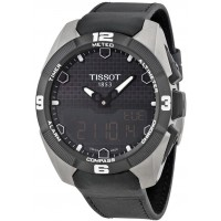 Tissot T-Touch Expert Solar Men's Black Leather Band Watch
