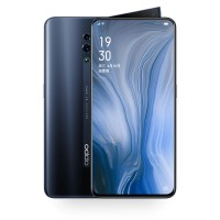 OPPO Reno, Jet Black, 6GB RAM, 256GB Storage, rear camera 48 MP and 5 MP ,3765 mAh
