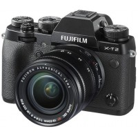 Fujifilm X-T2 - 24.3 MP Mirrorless Digital Camera with XF 18-55mm F2.8-4 R LM OIS Lens, Black