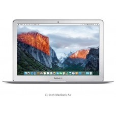 Apple MacBook Air 2016 Laptop MMGF2 - Intel Core i5 1.6 GHz Dual Core, 13.3 Inch, 128GB SSD, 8GB RAM, English Keyboard, macOS, Silver - International Version