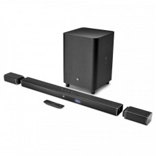 JBL Bar 5.1 Channel 4K Ultra HD Soundbar, Wireless Subwoofer, Black