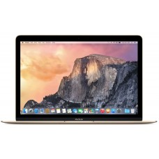 Apple MacBook Laptop - Intel Core M, 1.2 GHz Dual Core, 12 Inch, 512GB, 8GB, Gold, Early 2015, MK4N2
