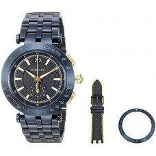 Versace Sport Watch For Men Analog Stainless Steel - VAH050016
