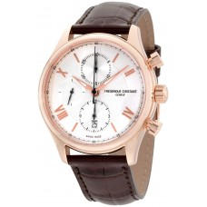Frederique Constant Casual Watch For Men Analog Leather - FC392MV5B4