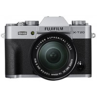 Fujifilm X-T20 - 24.3 MP Mirrorless Digital Camera with XC 16-50mm F3.5-5.6 OIS II Lens, Silver