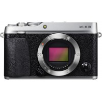 Fujifilm X-E3 Body Only - 24.3 Megapixel Mirrorless Camera, Silver