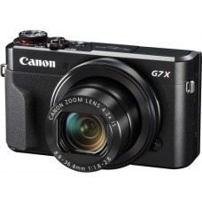Canon PowerShot G7 X Mark II - 20.1 MP, Point and Shoot Camera, Black