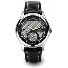 Armand Nicolet L14 Men's Black Dial Leather Band Watch - A750AAA-NR-P713NR2