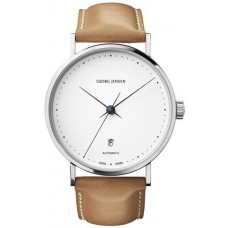 Georg Jensen Casual Watch For Men Analog Leather - 3575563